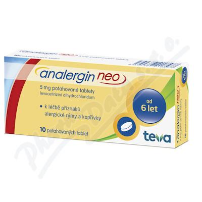 Analergin Neo 5mg por.tbl.flm.10x5mg