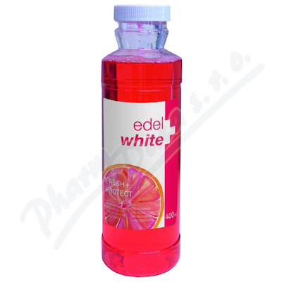 EDEL+WHITE Fresh+Protect ústní voda 400ml