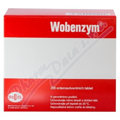 Wobenzym 200 enterosolventních tablet