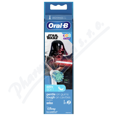 Oral-B kartáčkové hlavice Kids Star Wars 2ks