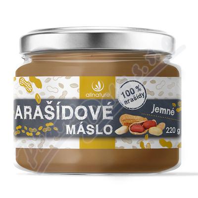 Allnature Arašídové máslo jemné 220g