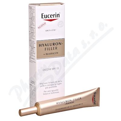 EUCERIN HYALURON-FILLER+ELASTICITY oční krém 15ml