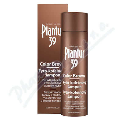 Plantur39 Color Brown Fyto-kofeinový šampon 250ml