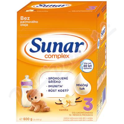 Sunar Complex 3 vanilka 600g - nový