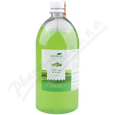AROMATICA Čistící gel na ruce Aloe vera 1000ml