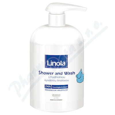 Linola Shower and Wash 500ml