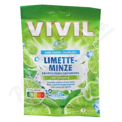 Vivil Limetka-peprmint+vit.C bez cukru 60g