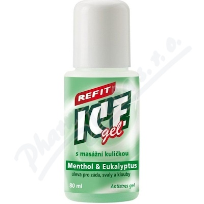 Refit Ice gel Menthol&Eukalyptus roll-on 80ml