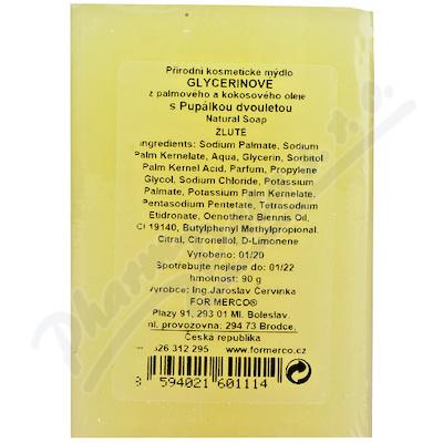 MERCO Glycerinové mýdlo s pupalkou 90g