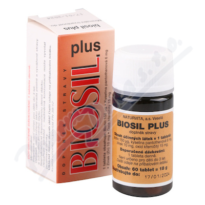NATURVITA Biosil Plus tbl.60