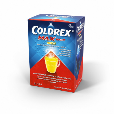 Coldrex MAXGrip Citron por.plv.sol.scc.10