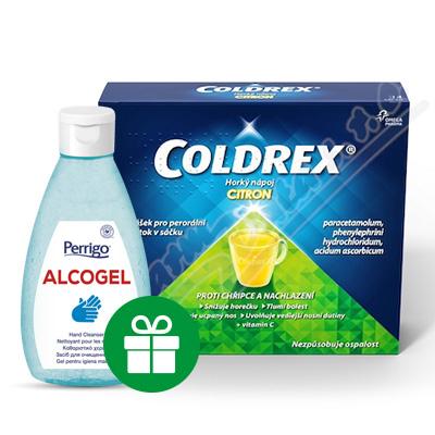 Coldrex Horký nápoj Citron por.plv.sol.scc.14