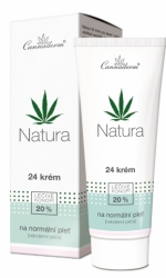 Cannaderm Natura 24 krém na normální pleť 75g