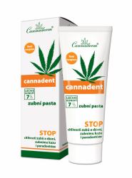 Cannaderm Cannadent zásaditá zubní pasta 75 g
