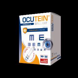 Ocutein Brillant Lutein 25mg 90+30tob.+ dárek