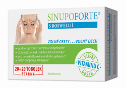 SINUPO Forte s Boswellií 20+20