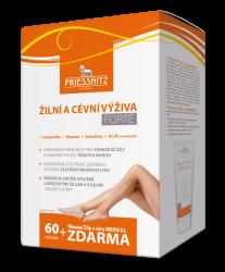 Priessnitz Žilní a cévní výživa Forte 60tob + mazání